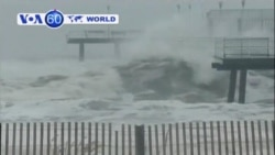 Hurricane Sandy closes in on East Coast