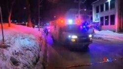 2017-01-30 美國之音視頻新聞: 加拿大魁北克槍擊6死8傷 兩名疑兇被捕