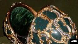 Một trong những quả trứng do nhà kim hoàng Fabergé sản xuất