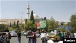 دمشق بم حملہ