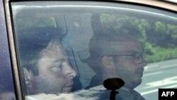 Chủ tịch N-VA Bart De Wever cùng Quốc vương Albert II tới dự phiên tham vấn