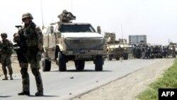 Konvoj nemačkih vojnika u Avganistanu