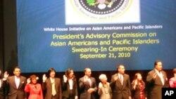 白宫亚太裔顾问委员会成员宣誓就职