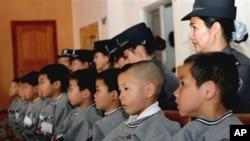昆明警察2006年解救的被拐儿童
