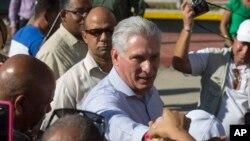 Chủ tịch Cuba Miguel Diaz-Canel.