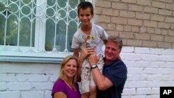 Дианна,Мил Валлен и, возможно, их будущий сын - Максим