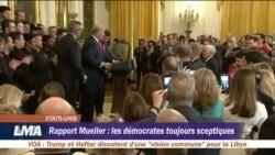 Rapport Meuller: les démocrates toujours sceptiques