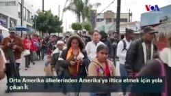 Göçmen Konvoyu Amerika Sınırına Ulaştı