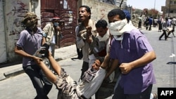 Xung đột lại bùng nổ tại thành phố Taiz sau khi lực lượng an ninh nổ súng vào những người biểu tình