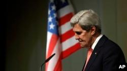 美国国务卿克里。