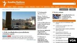 AzadlıqRadiosunun internet səhifəsi