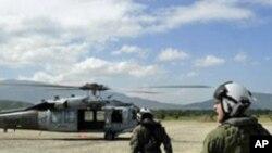 ہیٹی زلزلہ: امریکی امدادی ہیلی کاپٹر گر کر تباہ ہو گیا