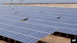 Solar panels could soon be a source of electricity in Juba.