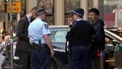 2019-08-13 美國之音視頻新聞: 澳洲悉尼警方拘捕一名在市中心持刀襲擊的男子