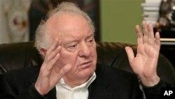 Mantan Presiden Georgia dan Menlu Soviet Eduard Shevardnadze (Foto: dok).