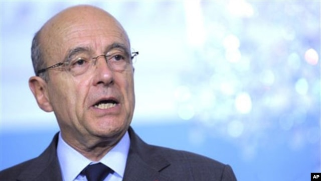 France's Foreign Minister Alain Juppe (file photo)