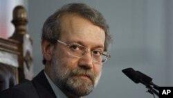 عکس آرشیوی از علی لاریجانی رئیس مجلس شورای اسلامی ایران
