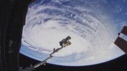Съемка из космоса в формате 8К
