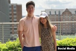 Victor dan Cynthia Liu. (Foto: sosmed)