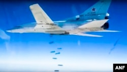 Російський стратегічний бомбардувальник Ту-22М3