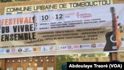 Festival Mieux vivre à Tombouctou, Mali