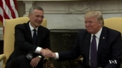 Nervous NATO Leaders Await Trump Visit