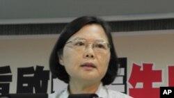 民进党主席蔡英文(资料照片)