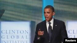 """Tổng thống Obama loan báo những biện pháp mới để đối phó với một vấn đề ông gọi là """"dã man và độc ác"""" không có chỗ đứng trong thế giới văn minh"""
