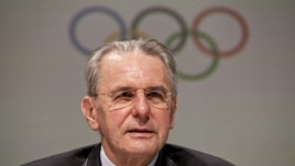 IOC President Jacques Rogge (file photo)
