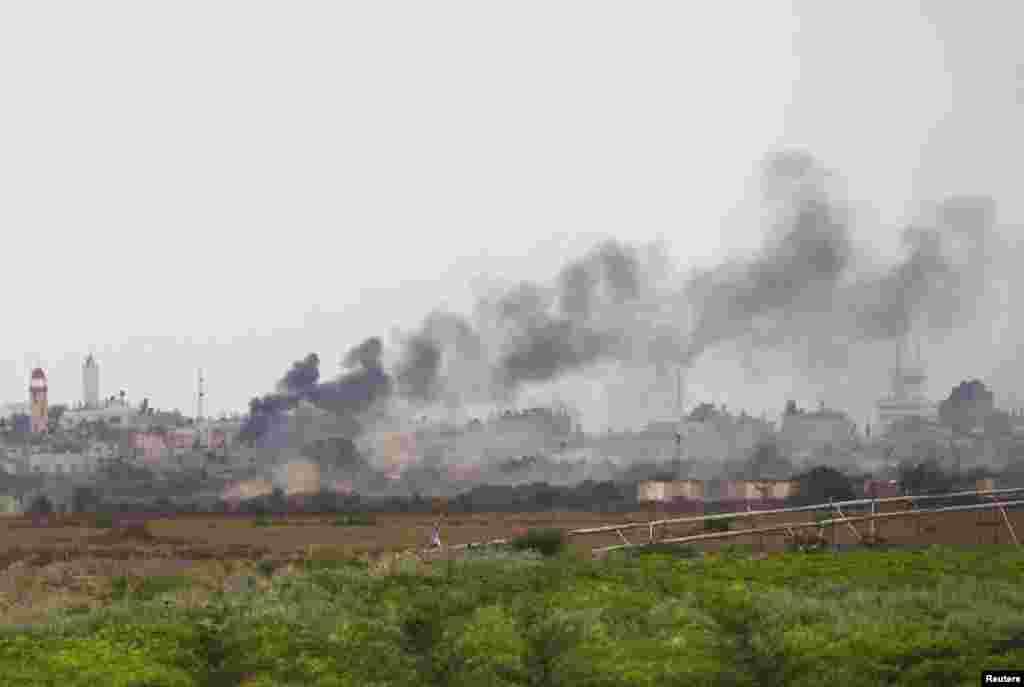 حمله اسرائیل به جنوب غزه- ۱۸ ژوئیه