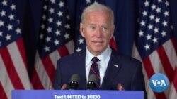 Biden Campaigns Amid Trump Impeachment Controversy