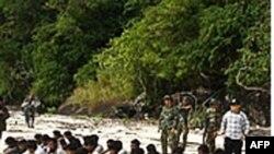 Người sắc tộc Rohingya chạy sang Thái Lan tị nạn