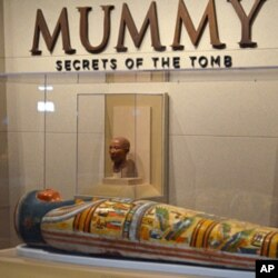 The Virginia Museum of Fine Arts in Richmond is the only US venue for an exhibit of artifacts from the British Museum that includes four mummies.