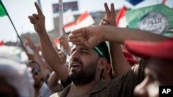 Abashigikiye prezida yakuwe ku butegetsi mu gihugu ca Misiri, Mohamed Morsi