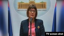 Juru bicara Uni Eropa Maja Kocijancic menjelaskan perluasan sanksi Uni Eropa terkait krisis di Ukraina (foto: dok).