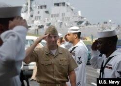 美国前海军作战部部长格林内特海军上将 (美国海军)