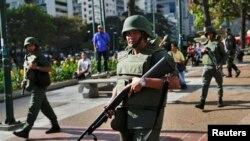 Venesuelada namoyishlar, Karakas, 17-mart, 2014-yil