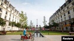 Kota Hangzhou di China, tempat para aktivis perempuan ditangkap.