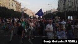 "39. protest ""1 od 5 miliona"" u Beogradu (Foto: Ljudmila Cvetković, RSE)"