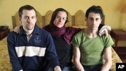 被伊朗拘捕的美國旅行者