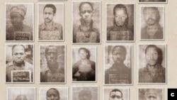 Quelques victimes du massacre d'octobre 1971, au camp Boiro, à Kindia et à Kankan,exécutées sous le régime de Sékou Touré, qui a dirigé laGuinéede son indépendance en 1958 à 1984.