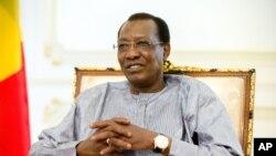 Le président tchadien, Idriss Deby Itno, le 20 avril 2016.