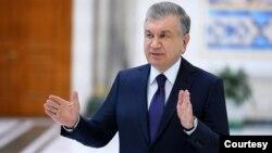 O'zbekiston Prezidenti Shavkat Mirziyoyev