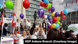 Kempeyna HDP'ê li Enqerê (Arşîv)