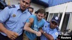 El colombiano Luis Felipe Ríos Castaño fue capturado el pasado 26 de junio en Managua y asegura ser un espía al servicio de su país.