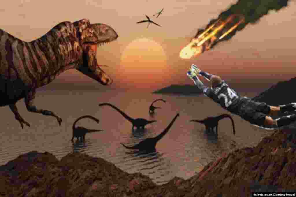 Тім Говард, на думку фанатів, міг би врятувати динозаврів від знищення.