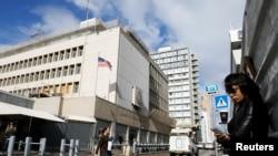 تل ابیب میں امریکہ کا سفارتخانہ (فائل فوٹو)