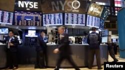 La ola de optimismo entre los inversionistas hizo subir los índices bursátiles en Wall Street.