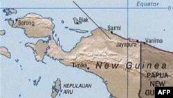 Peta Papua.