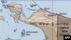 Tanah longsor terjadi di beberapa bagian ibukota Jayapura, setelah hujan besar terjadi Sabtu malam (22/2).